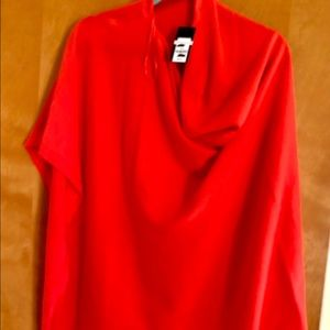 NWT Crown & Ivy cape/poncho. Lightweight -one size